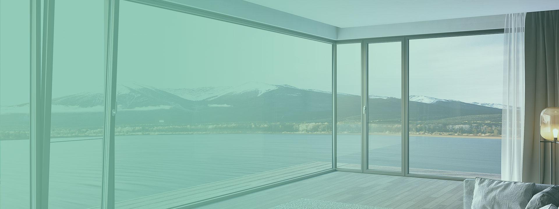 新生代铝包木空调窗